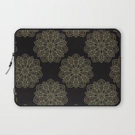 Floral Trendy Arabesque Mandalas Laptop Sleeve