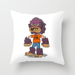 The Costume Kid Throw Pillow