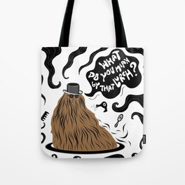 Cousin Itt (Addams Family) Tote Bag