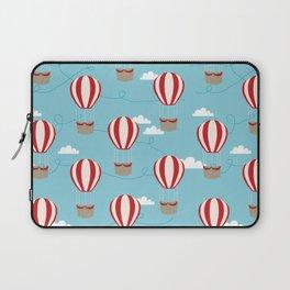 Hot air balloon pattern cute decor for boys or girls room Laptop Sleeve