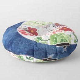 round lantern by cocoblue Floor Pillow