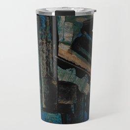 Bejewelled Modern Abstract Cubism Travel Mug
