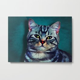Cat #cat #kitty Metal Print