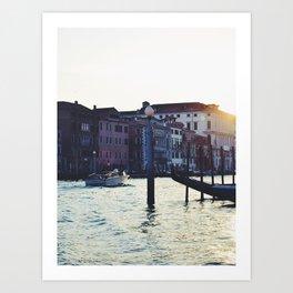 A Venetian Sunset Art Print