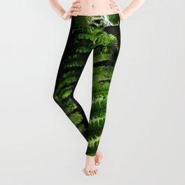 Fern #fern #botanical Leggings
