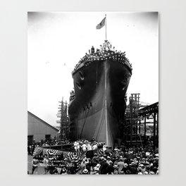 USS Arizona, Navy Yard, New York Canvas Print