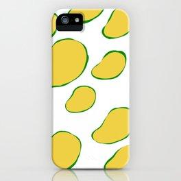 Mango Beans iPhone Case
