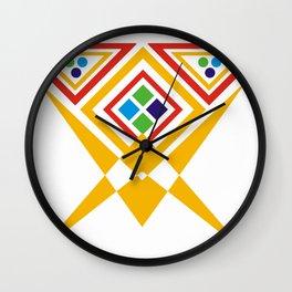 interlock effect Wall Clock