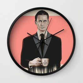 "Set of posters:""TWIN PEAKS"" Wall Clock"