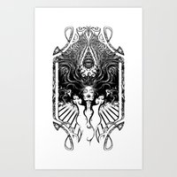 goddess Art Prints featuring Goddess by 6amcrisis