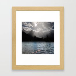 The Secret Room Where Dreams Prowl Framed Art Print