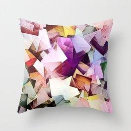 Geometric Stacks Multi Throw Pillow