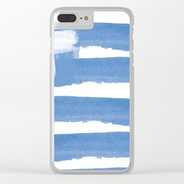 GREECE FLAG for tote bags! İllustrarion and painting designs! Clear iPhone Case