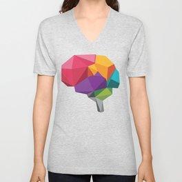 creative brain Unisex V-Neck