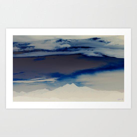 Inverted Peaks II Art Print