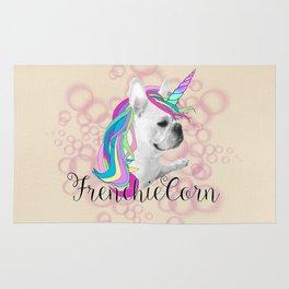Frenchie Unicorn Rug