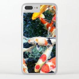 Koi Koi Koi Clear iPhone Case