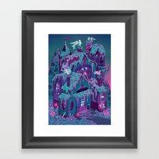 December House Framed Art Print