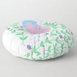 Still Growing Floor Pillow