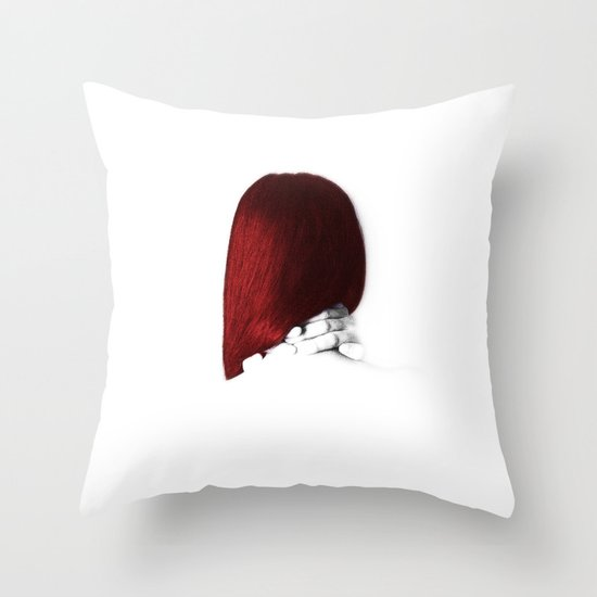 I Was Silent Throw Pillow