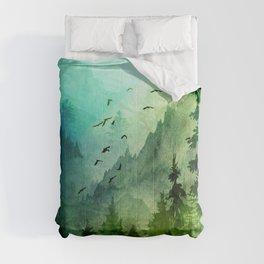 Mountain Morning Comforters