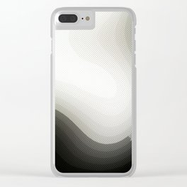 Edged Out Clear iPhone Case
