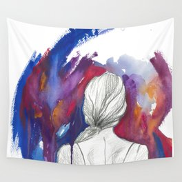Anyway it doesn't matter anymore iii (i) Wall Tapestry