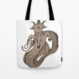 Capricious Capricorn Tote Bag
