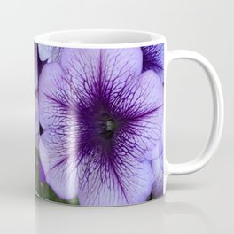 Purple Petunias Coffee Mug