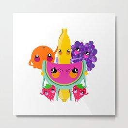 frutas Metal Print
