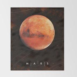 MARS Throw Blanket