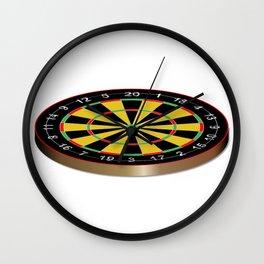 Classic Typical Darts Board Wall Clock