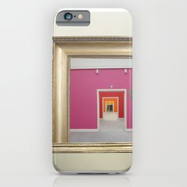 RahmenHandlung 3 iPhone Case