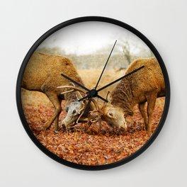 Rivalry Wall Clock