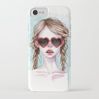 lolita iPhone & iPod Cases featuring Lolita by Black Fury