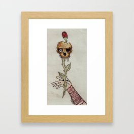 Fresh Cut Romance Framed Art Print