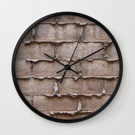 Brick Wall No. 1 Wall Clock