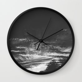 The Night Lands Wall Clock