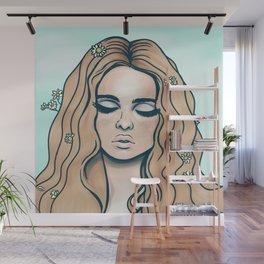 groovy girl Wall Mural