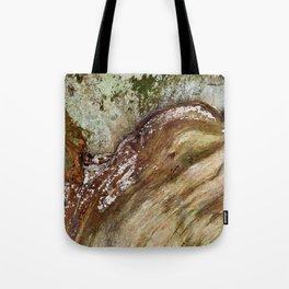 Vibrant Wood Decay Tote Bag