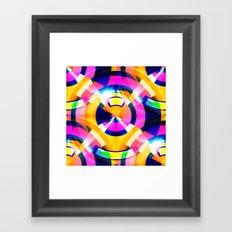 Pop Flux Framed Art Print