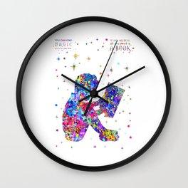 Reader boy Wall Clock