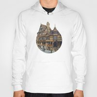 buildings Hoodies featuring Buildings by Protogami