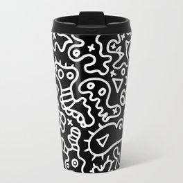 Microbes white art  by ilya konyukhov (c) Travel Mug