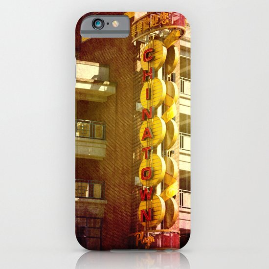 Chinatown iPhone & iPod Case