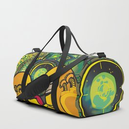 DON'T PRESS THE BUTTON Duffle Bag