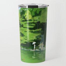 Green pond Travel Mug