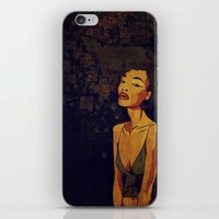 afro iPhone & iPod Skins featuring afro - Soul by Mike Koubou