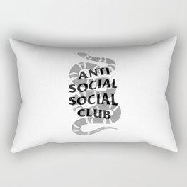 Anti social social club and Gucc i Rectangular Pillow