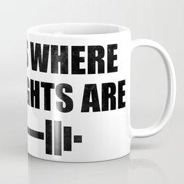 At Home Gym Coffee Mug